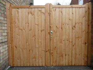 wooden gate