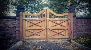 Light-brown-driveway-gate