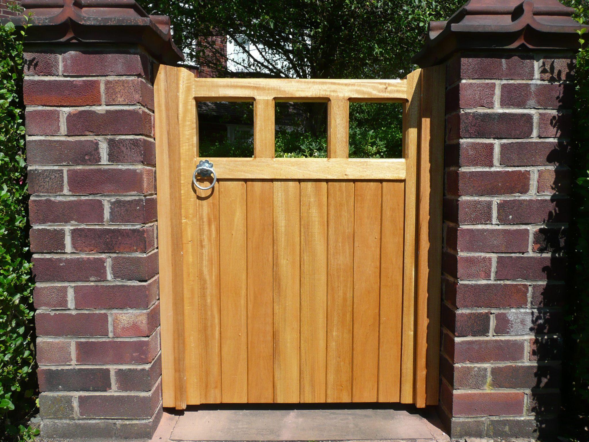 Types Of Timber Village Gates