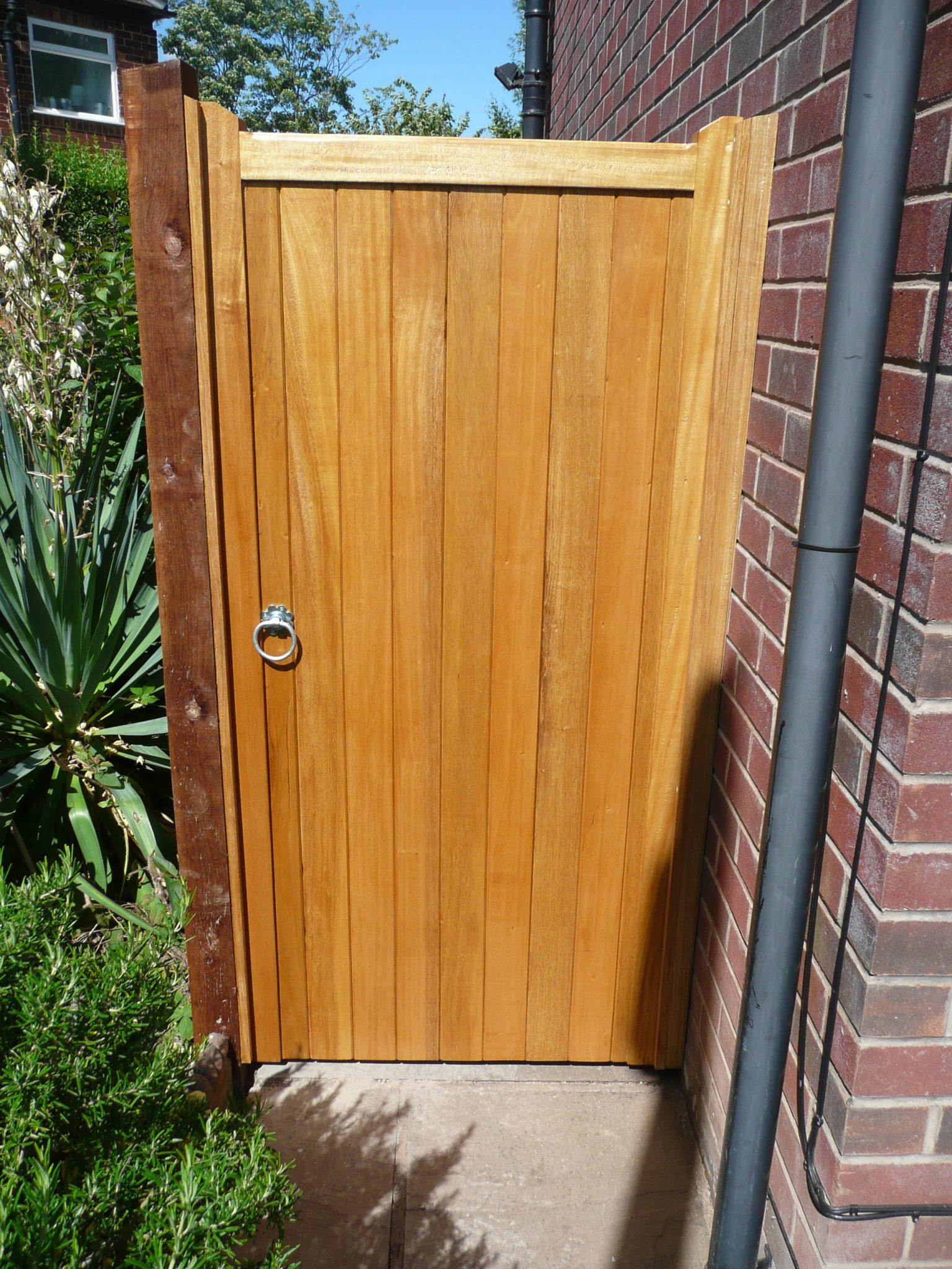 Types Of Wooden Garden Gates