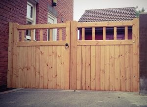 Cheshire Design Softwood Double Gate