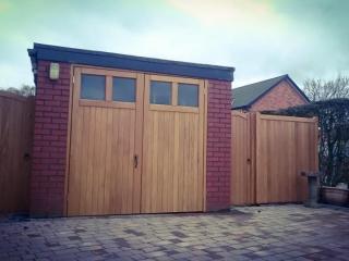 Hardwood Garage Doors and Side Gates