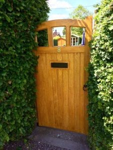 Hardwood Side Gate - Lancashire Design