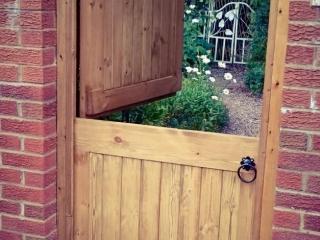Softwood halved Side Gate - Lymm design