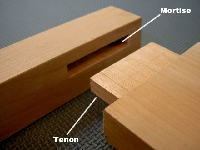 mortise and tenon wooden joint