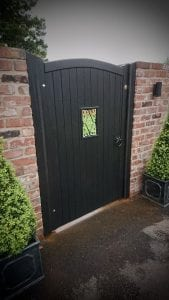 Idigbo Lymm side gate ebony finish