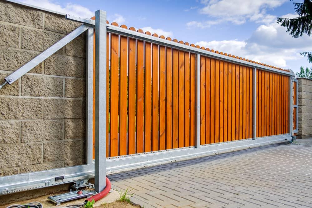 bespoke driveway gate